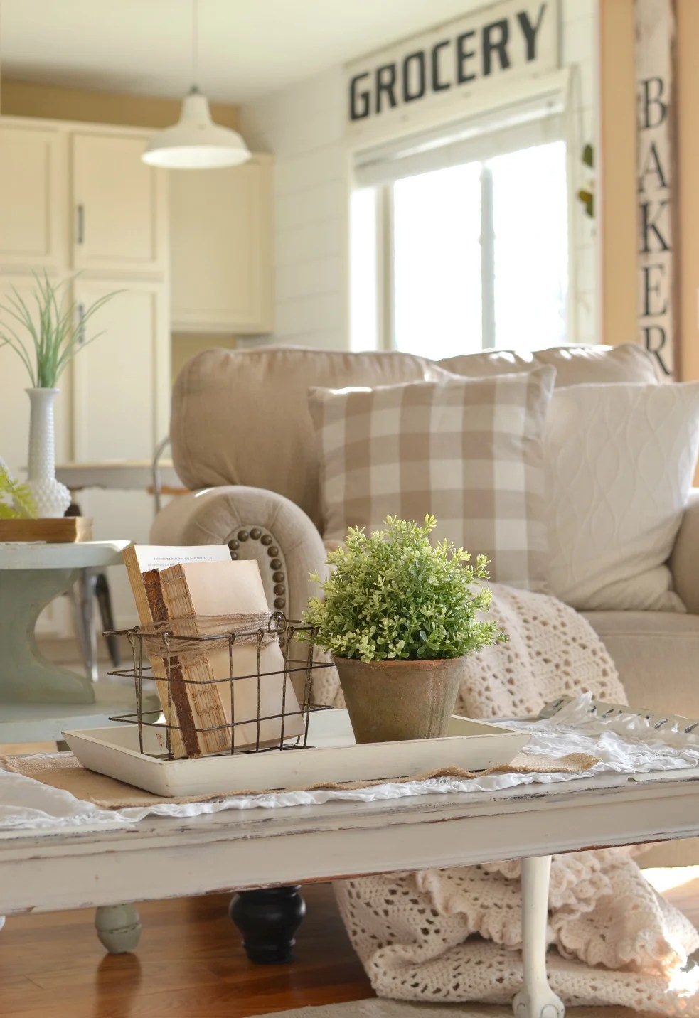 How to Get Farmhouse Style In Your Home on Farmhouse Curtains Ideas  id=15432