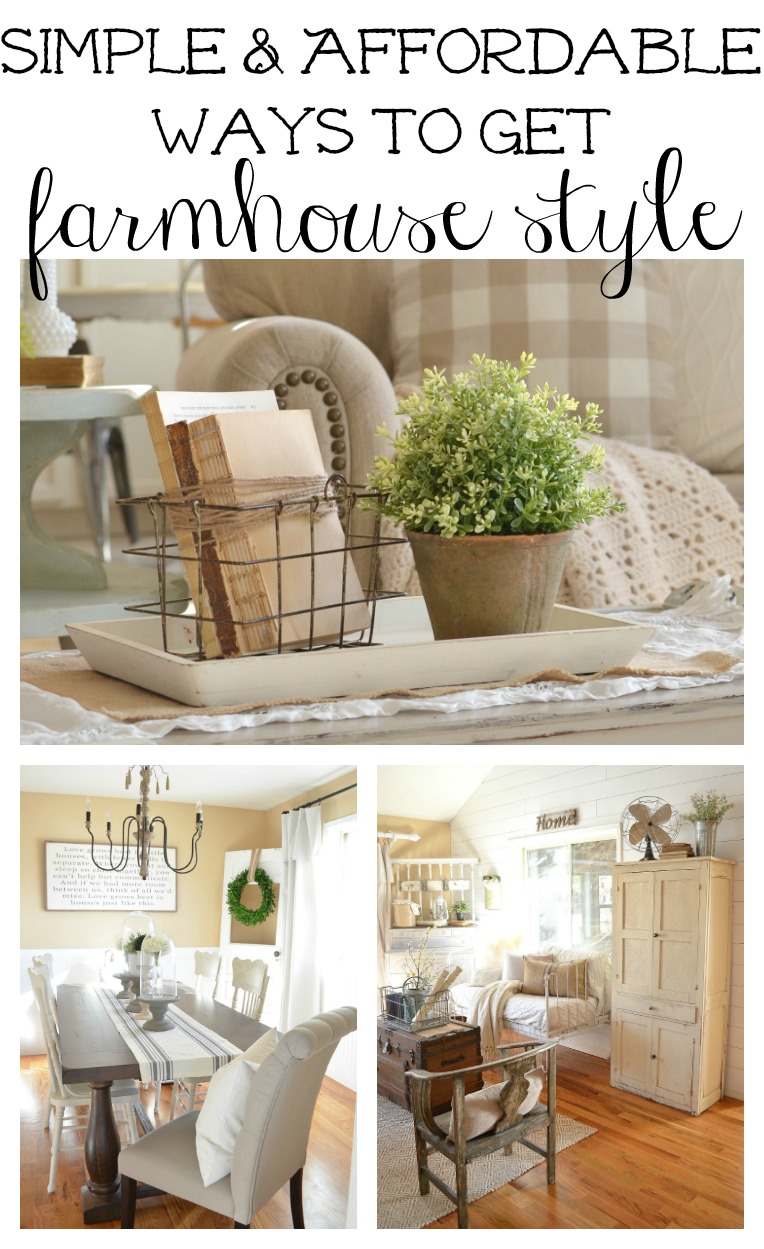 Vintage French Farmhouse Decor