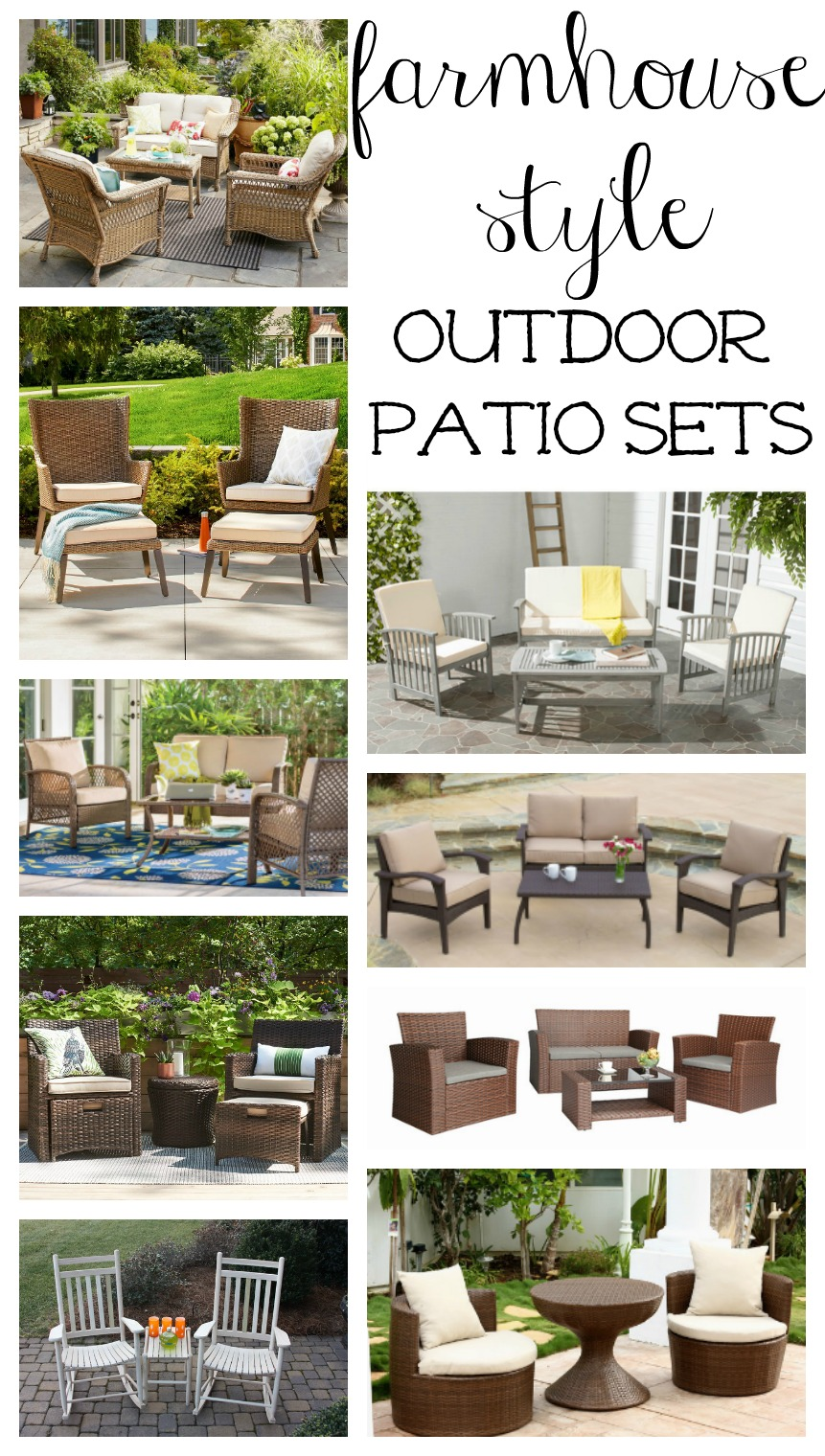 Farmhouse Style Outdoor Decorating Ideas Amp Shopping Guide