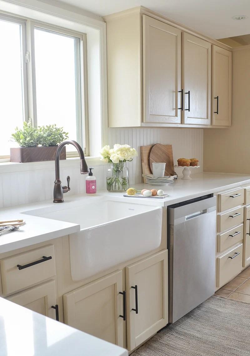Farmhouse Style Kitchen Makeover on Farmhouse Countertops  id=26548