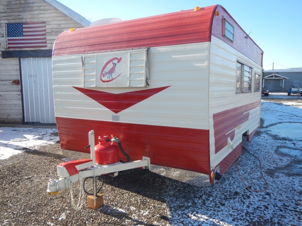 1972 Cardinal Deluxe Travel Trailer For Sale