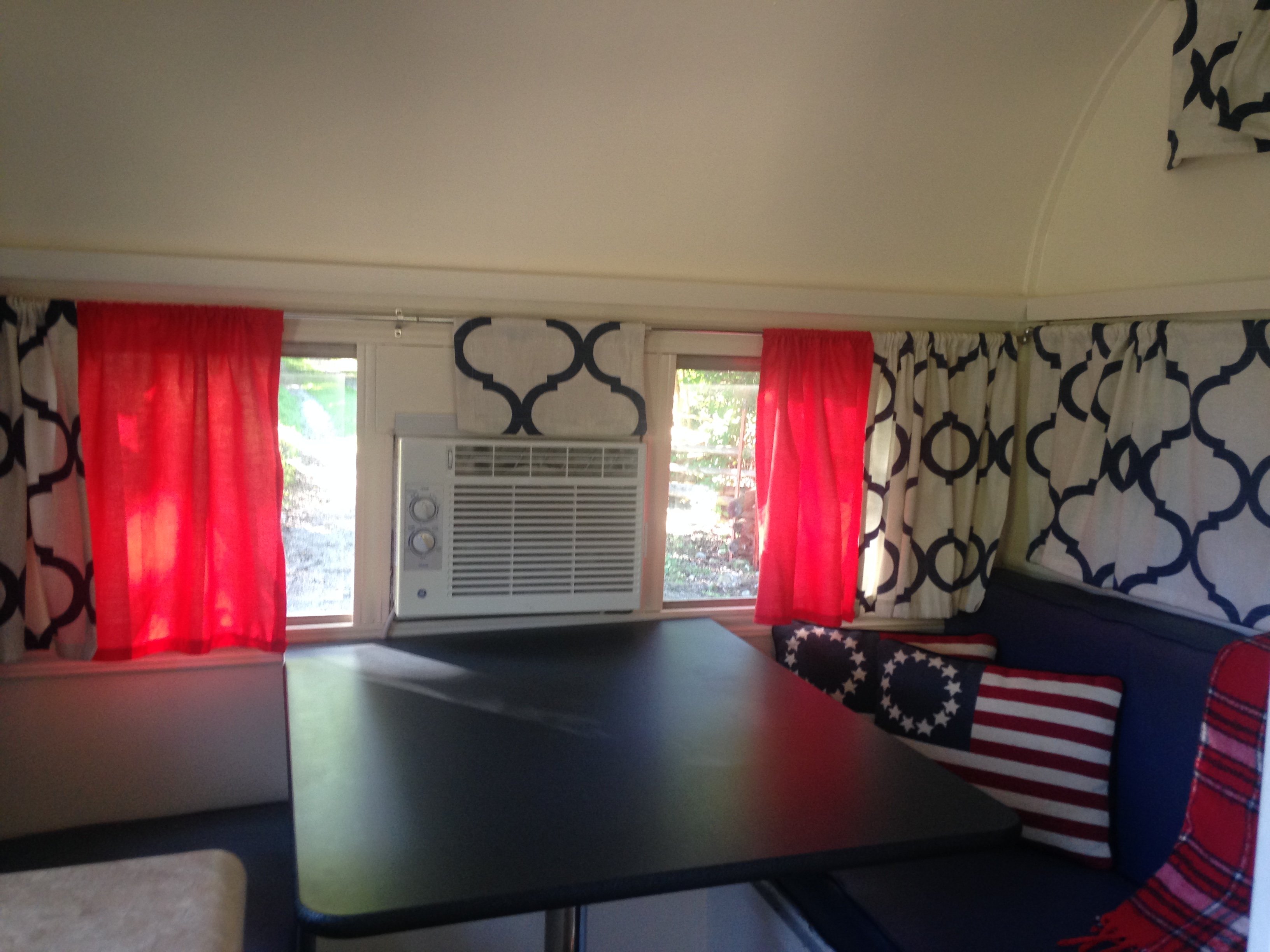 Camper window treatments - Click Any Image To Enlarge It