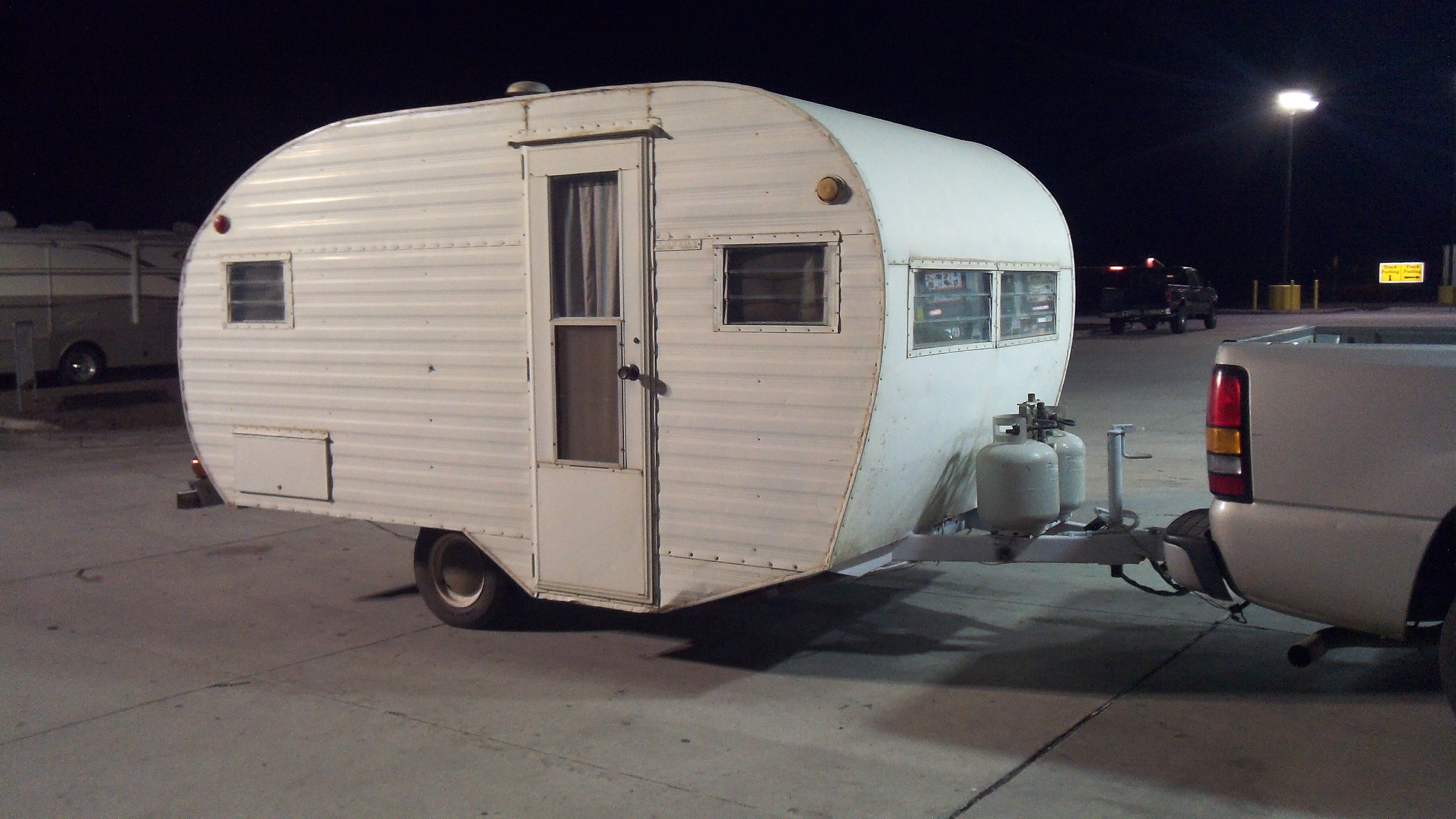 1960 Travel Trailer For Sale