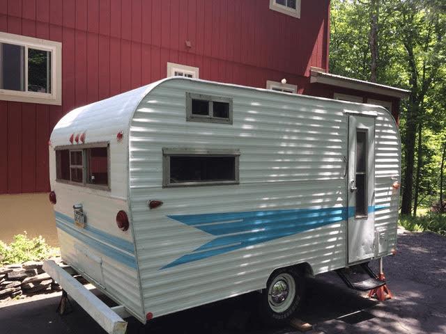 1970 Roadrunner Camper with Bathroom For Sale