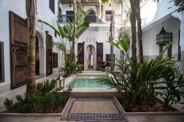 Riad in Marrakesch - via luxuryaccomodationsblog.com