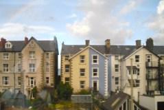 Some skinny houses