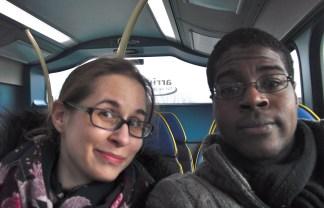 Bus into Holyhead