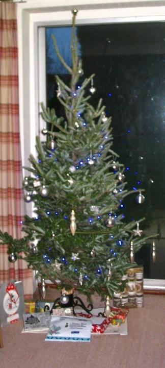 Authentic x-mas tree.