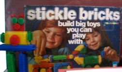 Stickle bricks...ugh