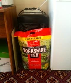 Office tea bags restocked! 1000 should last us a week.