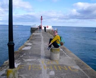 Sittin' on the pier