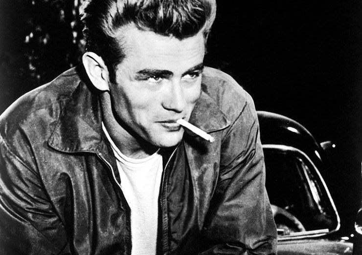James Dean image via AMC.com.