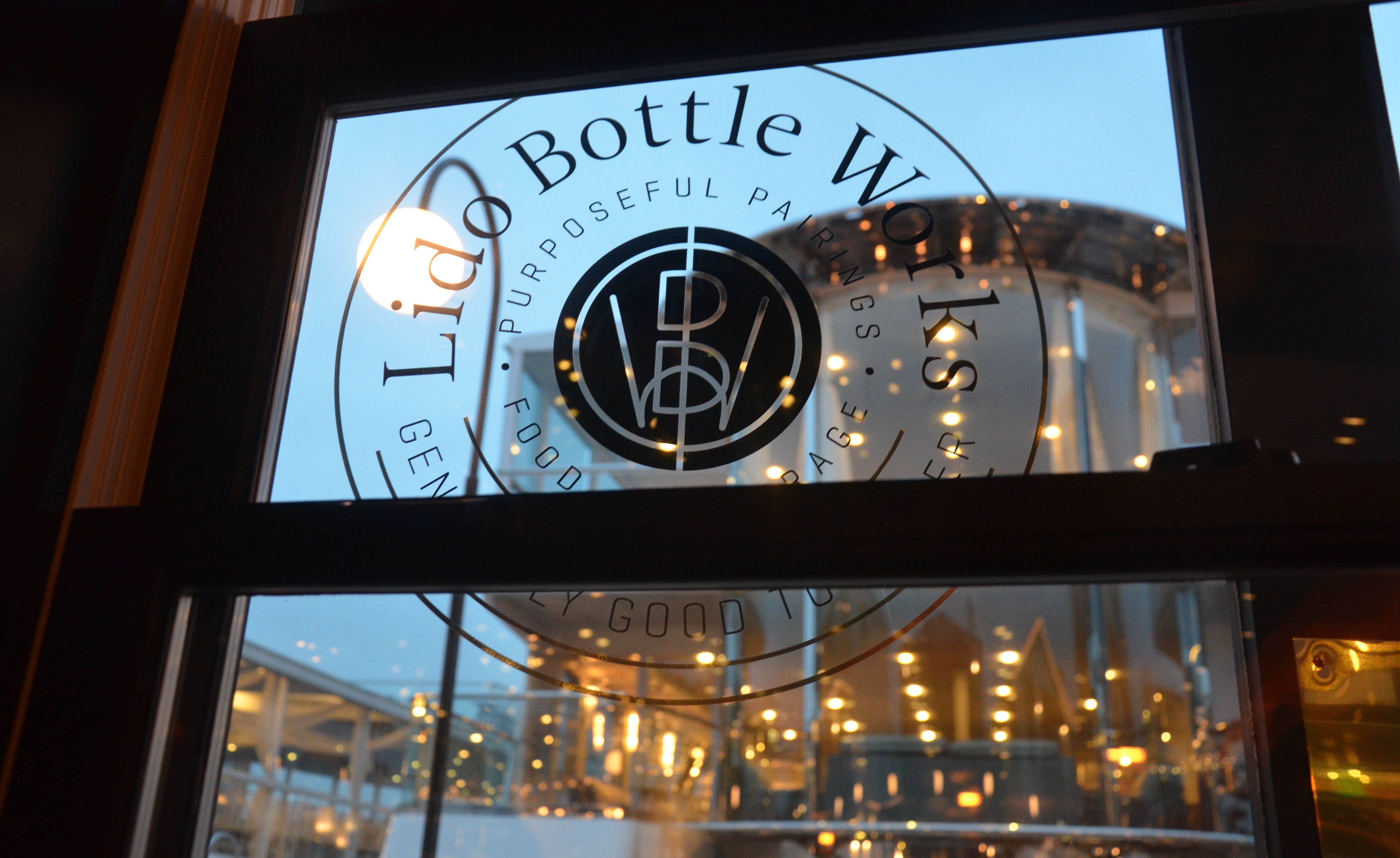 Lido Bottle Works Does Farm to Table Right