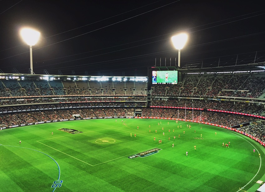 Footy at the Melbourne Cricket Grounds (MCG) - Melbourne, VIC