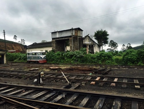 Train Tracks - Ella, Sri Lanka - August 2016