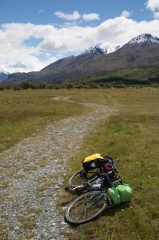 Bike by wayside
