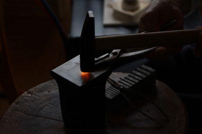 鍛造法での制作方法