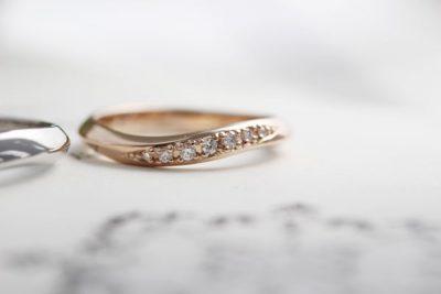 山口様オーダーメイド結婚指輪