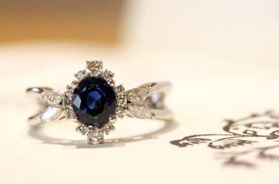 指輪のリメイク実例(お客様オーダー)