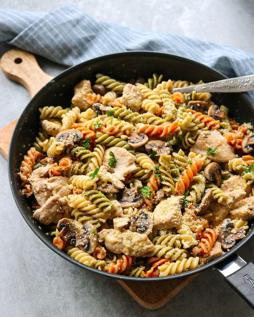 Chicken and Mushroom Pasta Recipe