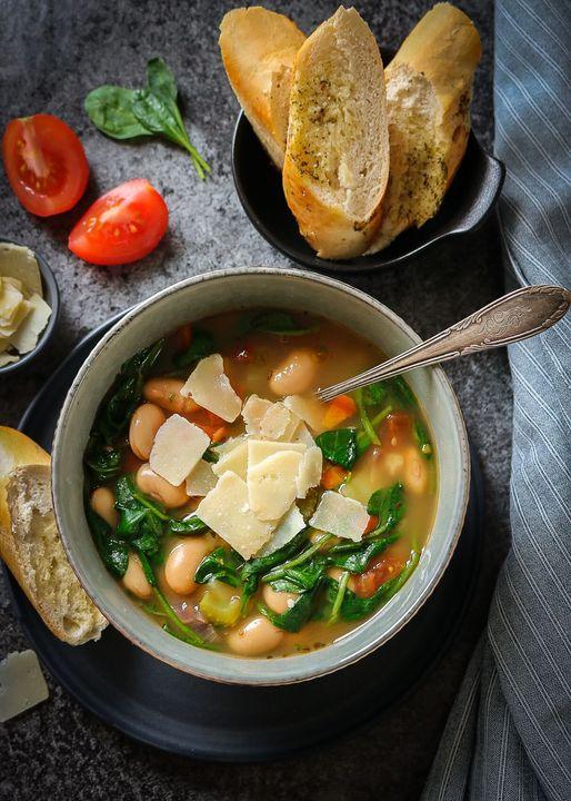 Kale White Bean Soup Recipe