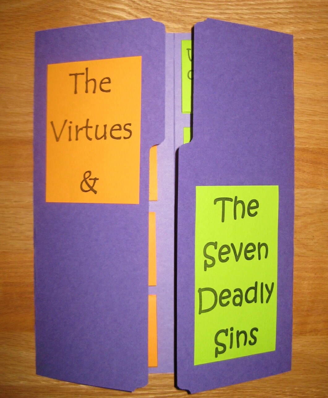 The Virtues Amp The 7 Deadly Sins
