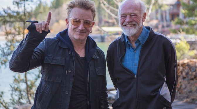 Bono and Eugene Peterson
