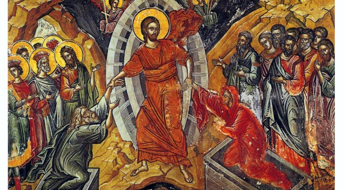 It's Holy Week in the Eastern Calendar!