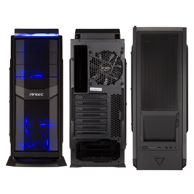 Gaming PC GTX 1060, SSD, SSHD, Windows 10 Pro, Antec, MSI, Intel