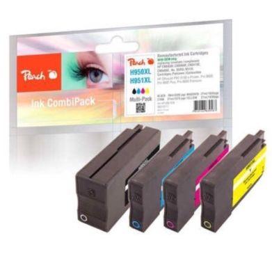 HP Peach PI300-538 950XL 951XL (Black, Cyan, Magenta, Yellow)