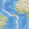 Земетресение с магнитут 7,1 по скалата на Рихтер в Атлантическият океан