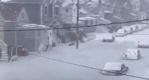САЩ: автомобили в Масачузетс замръзват в лед