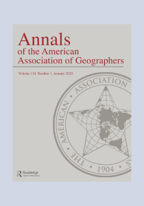Annals of the American Association of Geographers