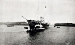 На-пути-в-Шербур-императорская-яхта-Полярная-Звезда.