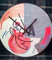 Vinyl Record Clocks