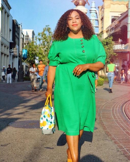 Wearing Green