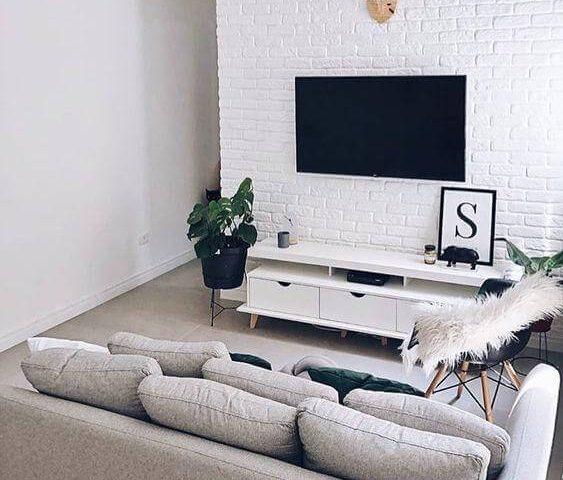 sala pequena cadeira eames