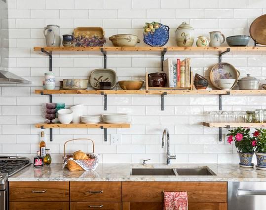 organizar suas prateleiras e armários