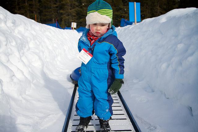 Moving Carpet Lift at Soda Springs Ski
