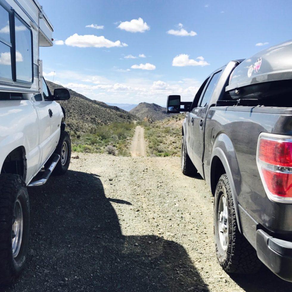Top of Foshay Pass, Mojave National Preserve