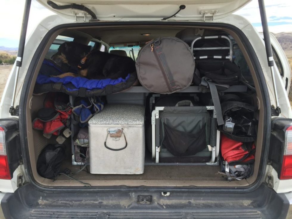 DIY SUV cargo deck V1 with no slide-out table