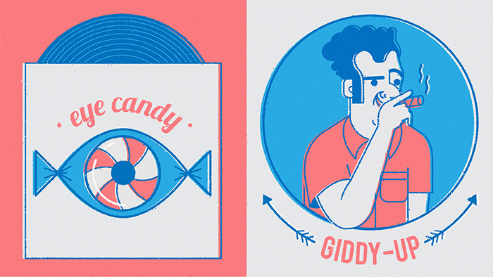 eye candy – giddy-up