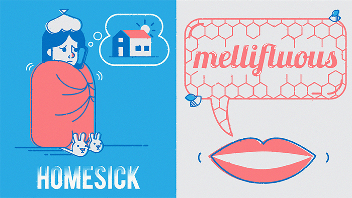 homesick - mellifluous