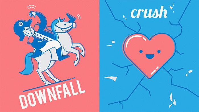Downfall fait partie de mes mots anglais préférés