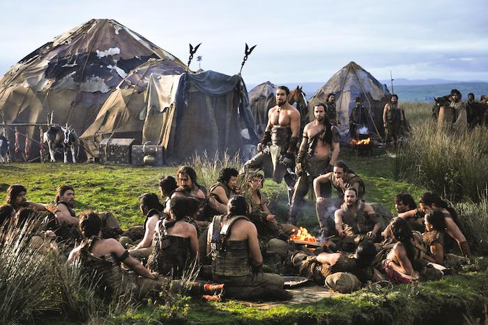 Le Dothraki est la langue inventée parlée par les… Dothrakis.