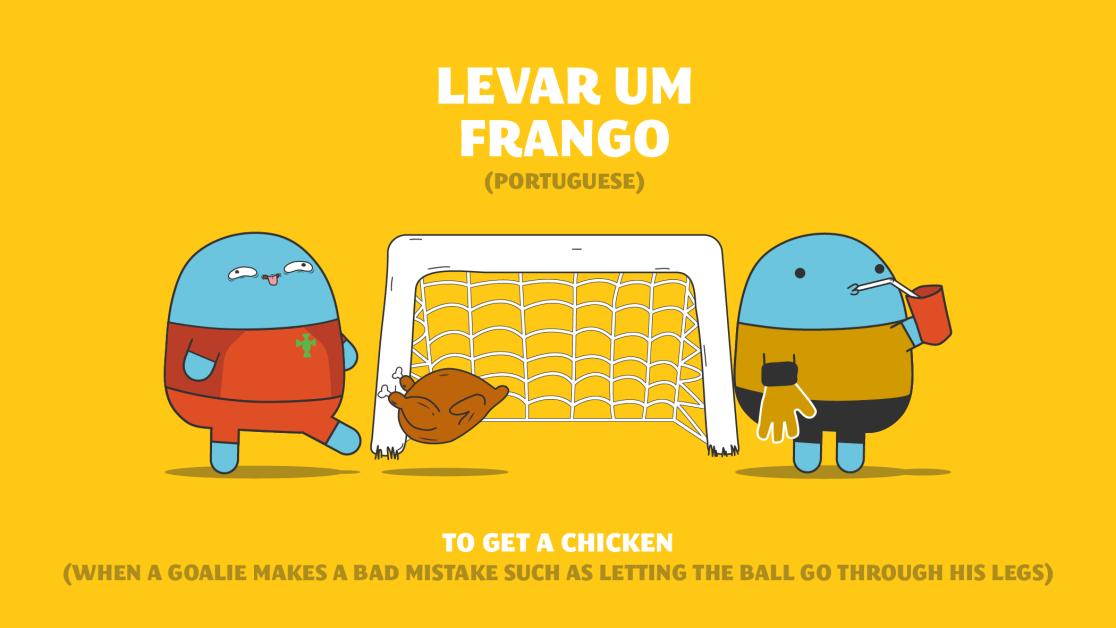 portuguese football idiom