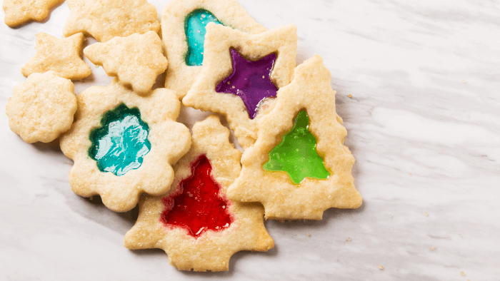 Traditional Christmas Cookies Around The World — Stained Glass Cookies