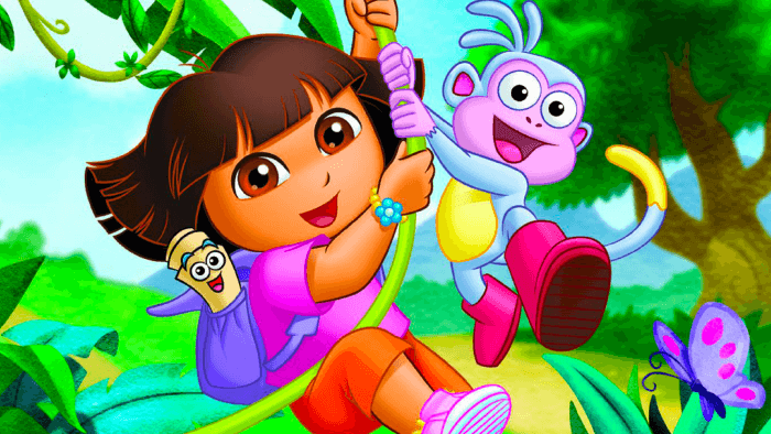 Spanish TV Shows — Dora the Explorer