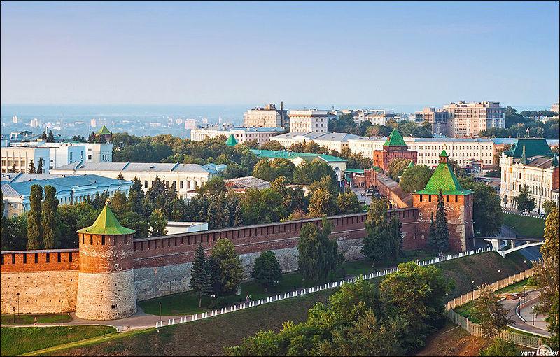 Le Kremlin de Nijni Novgorod