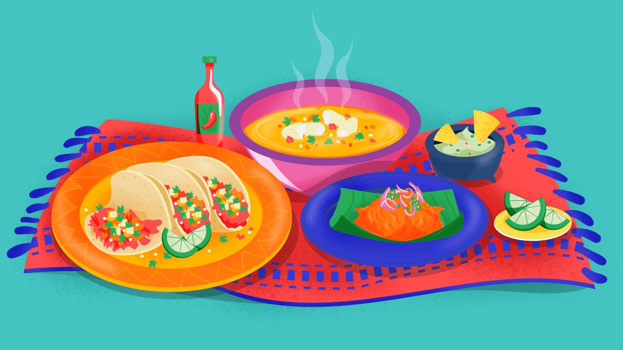 Tacos al pastor y otras delicias mexicanas